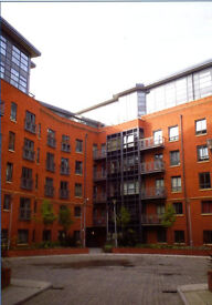 Gated apartment in Castlefield Locks - 2 Bedrooms + 2 bathrooms + Lounge + Kitchen etc., - June 21st