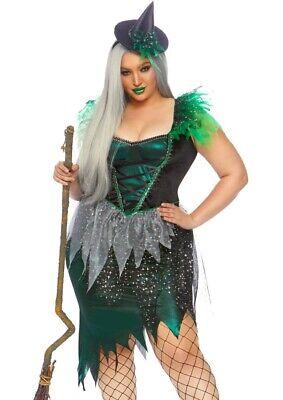 LAG 86816X Wicked Witch Böse Hexe Leg Avenue Damen Halloween Kostüm 44/46 48/50