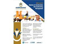 Gold CSCS & Black CSCS NVQ courses ( no time needed off work) Site Manager /Supervisor