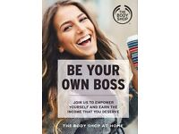 workers needed urgently to earn 20-30% on every sale from the body shop at home