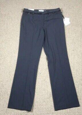NEW Calvin Klein Modern Fit Women's Pant Size 6 Gray & White  pants (New Klein Slack)