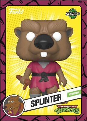 Funko Teenage Mutant Ninja Turtles TMNT - SPLINTER - Digital NFT Card Mint #2148