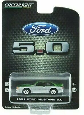 Greenlight Collectibles 1991 Ford Mustang 5.0 LBE Exclusive Green Machine