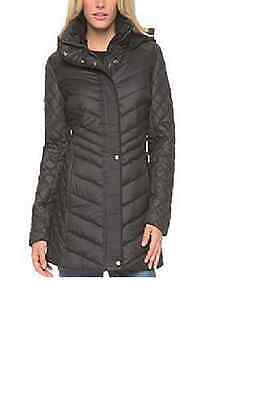 Marc New York Quilted Jacket -  Marc New York by Andrew Marc Women's Quilted Hooded Jacket Black