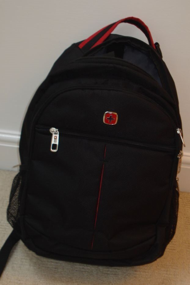 Wenger Laptop Backpack Carrierin Bradford on Avon, WiltshireGumtree - Wenger laptop backpack carrier; this is in excellent condition with multiple zipped compartments. Black trimmed with red