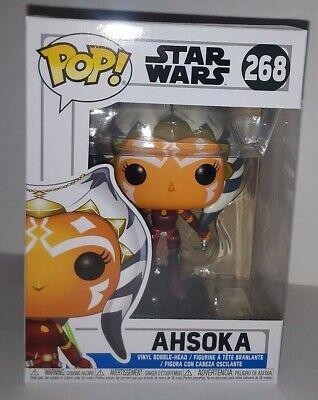 AHSOKA TANO FUNKO POP! 2018 Star Wars Clone Wars Mandalorian Rosario Dawson #268