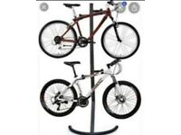 Two Bikes rack stand