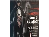 Boys Halloween Soul Reaper Costume Age 5-7