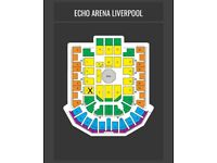 2UFC tickets seated together Liverpool Echo Arena 27 of may