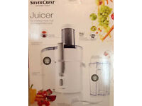 As new still boxed Silvercrest Kitchen Tools 450W White Juicer (Bath BA2 area)