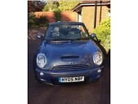 Mini Cooper Convertible : Immaculate Condition : MOT to April 2018 : 6 Gear Manual : Cool Blue