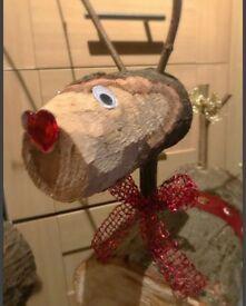 Wooden Reindeer 🦌 & Snowmen ⛄️