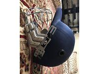 Yonker Cricket Helmet- New. Medium Size!