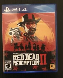 Red Dead Redemption 2 PS4 Like New