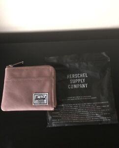Herschel rose pink wallet