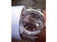 Rolex Datejust 41mm SS Rhodium Dial Ultimate Version