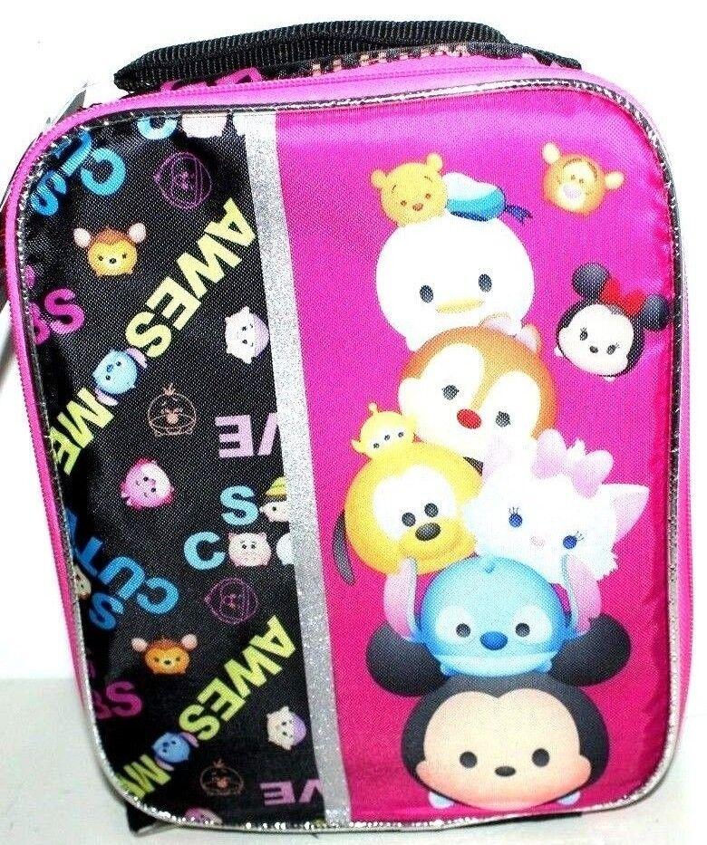 DISNEY TSUM TSUM INSULATED LUNCH BAG KIT GIRLS