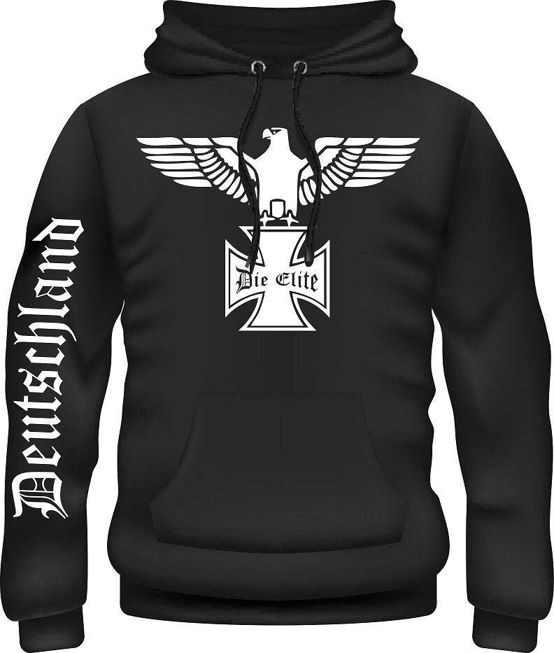 Kapuzensweatshirt,Pullover,Reichsadler,Wehrmacht,Deutschland,Eisernes Kreuz,Top