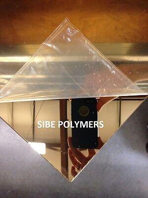 Gold Mirror Acrylic Plexiglass 18 X 12 X 12 Plastic Sheet