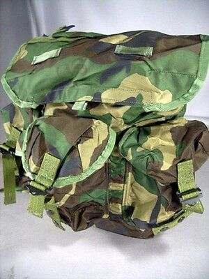 New Military Issue Woodland Camo Alice Pack Radio Backpack Medium Lc 1 W Straps