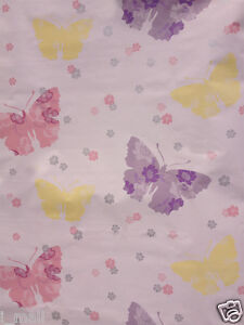 BUTTERFLIES & Floral Self adhesive WALL PAPER Kids room decor