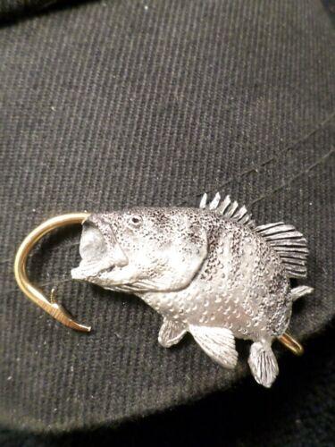 McCloud9 wildlife Hat Clip,Hooks { Sm mouth Bass }