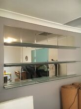 x 3 1800 x 170 glass shelves Elanora Heights Pittwater Area Preview