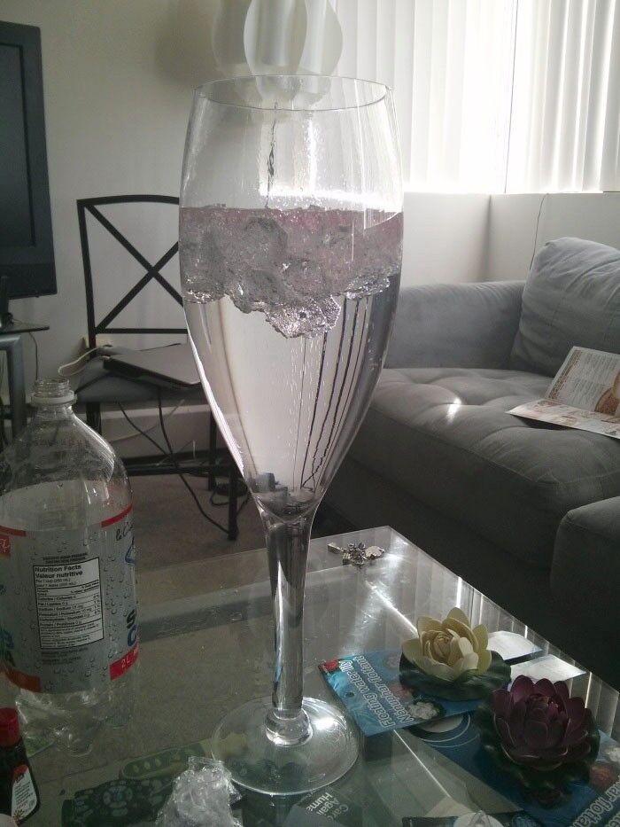 Tall Giant Wine Champagne Glass Vase Wedding Centerpiece 16 20 24