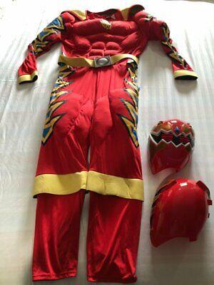 Red Ranger Adult Costume (VINTAGE Power Ranger Costumes Adult Red Ranger SZ LARGE 2004 HTF)