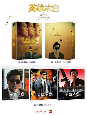 A Better Tomorrow Trilogy (2016, Blu-ray) Full Slip Box Set