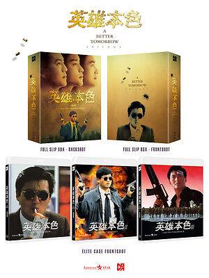 A Better Tomorrow Trilogy (2016, Blu-ray) Full Slip Box Set