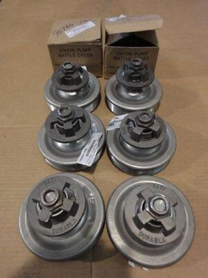 Lot Of 8 Durabla 4.5 Union Steam Pump Parts 316 Stainless Steel