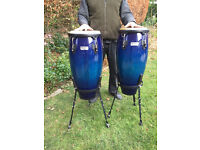 Congas...Dark Blue Pearlescent Finish