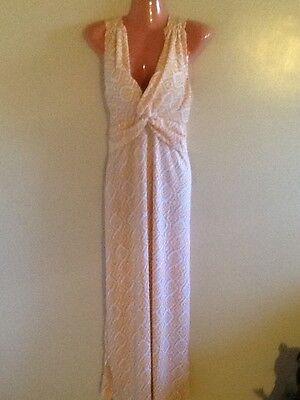 Print Surplice Dress - Women's Plus Size Aztec  Print Surplice Maxi Dress