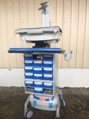 Capsa Healthcare Mobile Medical Cart With Computer Mount-free Ship Within 200 Mi