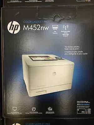 New HP Laserjet Pro M452nw Wireless Color Printer (CF388A)