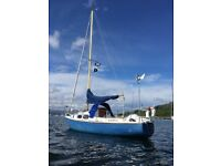 Yacht - Westerly 25 Sailing boat for sale