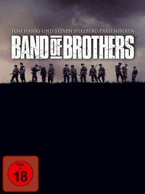 Band of Brothers - komplette Serie * NEU OVP * 6 DVD Box * FSK 18