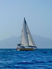45ft Steel Sailing Yacht for Blue Water Cruising