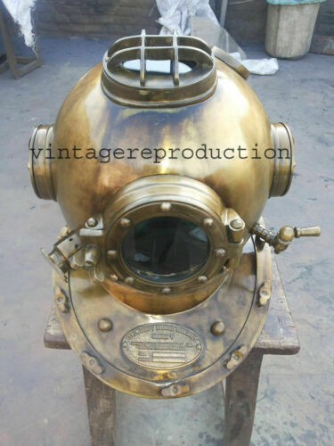SCA DIVERS DIVING Divers Helmet Vintage U.S Navy Mark V Deep Antique Sea Marine
