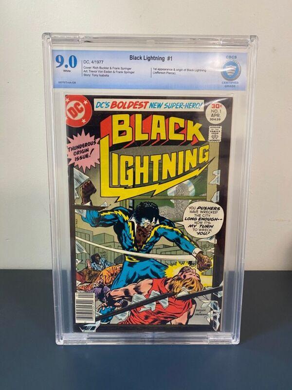 Black Lightning #1 - CGC 9.0 VF/NM DC 1977 - Origin and 1st Appearance