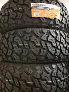 35X12.50R22 BRAND NEW POWERTRAC MUD TERRAIN TIRES 35 12 50 22 LT 35X12 50R22 M/T 35 INCH 10 PLY 35 12 5R22 35 1250 22