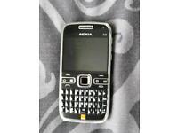 Nokia e72 black unlocked