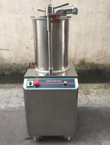 300KG/H Automatic Hydraulic Rapid Sausage Stuffer Sausage Filler Commerical - BRAND NEW - FREE SHIPPING