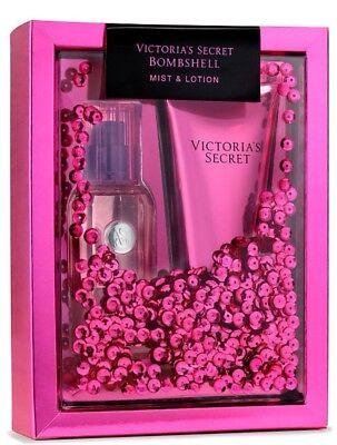 Victoria's Secret Gift Set BOMBSHELL Fragrance Mist & Body Lotion 2-pc.Set New