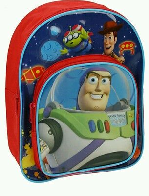 Disney Toy Story Boys Character Backpack School Nursery Bag Buzz Woody Free P&P