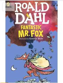 Roald Dahl 2 paperback books Fantastic Mr Fox, Boy