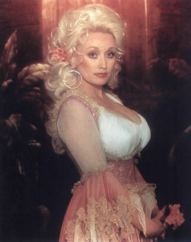Dolly Parton Orange  8x10 Photo Print