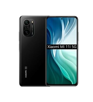 "Cellulare Smartphone Xiaomi Mi 11i 5G 6,67"" 8GB+256GB Cosmic Black"