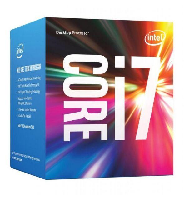 Intel Core 6th Gen i7 6700 3.40GHz Desktop CPU LGA1151 Socket 8MB PC Computer